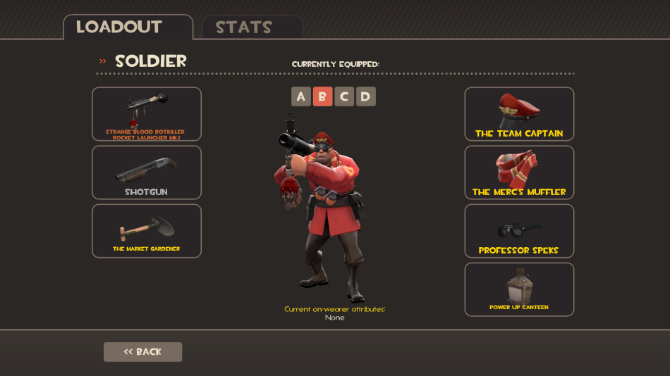 Soldier Blood Rocket Launcher