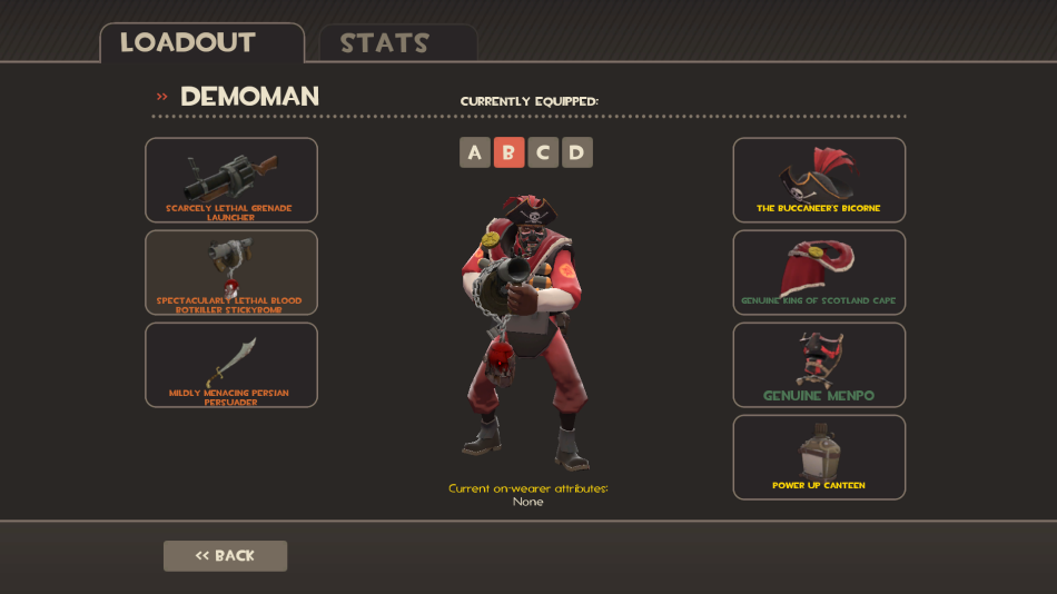 Demoman Blood Botkiller SL